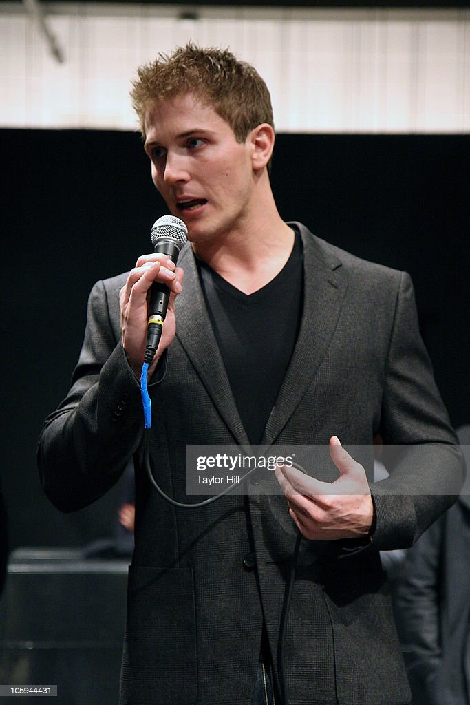 Scott Herman speaks during the Trevor's Fall Fete at Theory Flagship Store on October 21, 2010 in New York City.