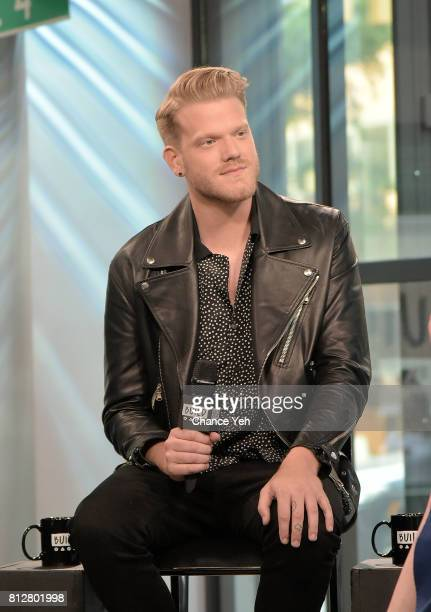 Scott Hoying of Superfruit attends Build series to discuss their debut album 'Future Friends' at Build Studio on July 11 2017 in New York City