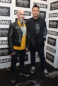 Scott Ian and Mark Hoppus of Anthrax and Blink 182 attend The Kerrang Awards at the Troxy on June 13 2013 in London England