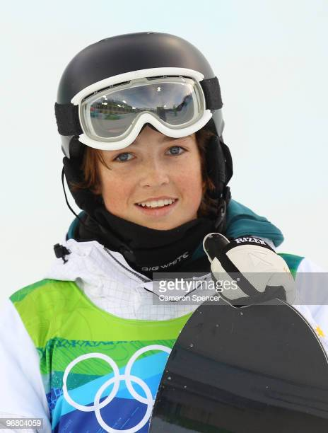 Scott James of Australia competes in the Snowboard Men's Halfpipe on day six of the Vancouver 2010 Winter Olympics at Cypress Snowboard SkiCross...