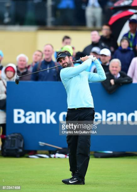 Scott Jamieson of Scotland during the Dubai Duty Free Irish Open hosted by the Rory Foundation at Portstewart Golf Club on July 9 2017 in Londonderry...
