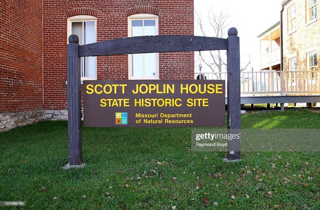 Scott Joplin House signage, in St. Louis, Missouri on NOVEMBER
