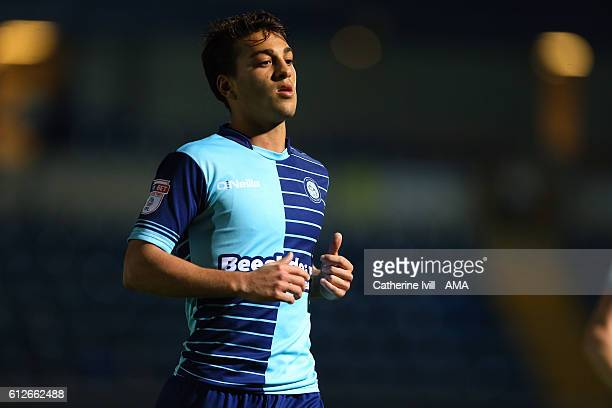 Scott Kashket of Wycombe Wanderers during the Checkatrade trophy match between Wycombe Wanderers and West Ham United at Adams Park on October 4 2016...