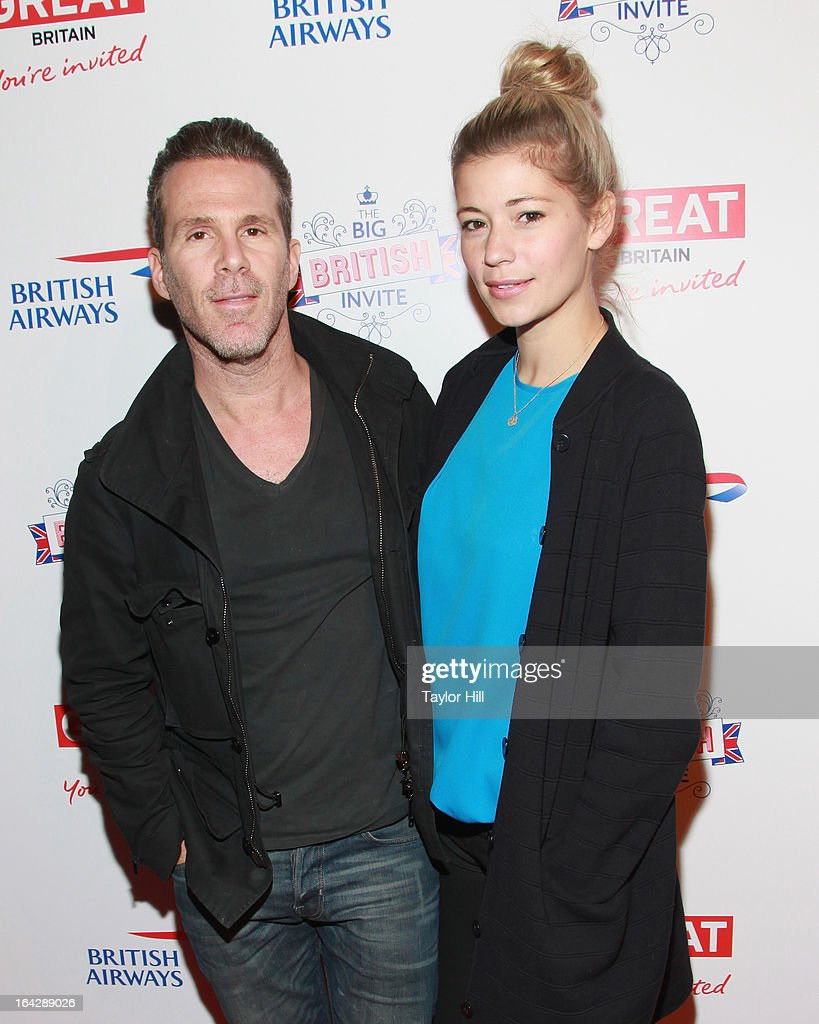 Scott Lipps attends The Big British Invite launch at 78 Mercer Street on March 21, 2013 in New York City.