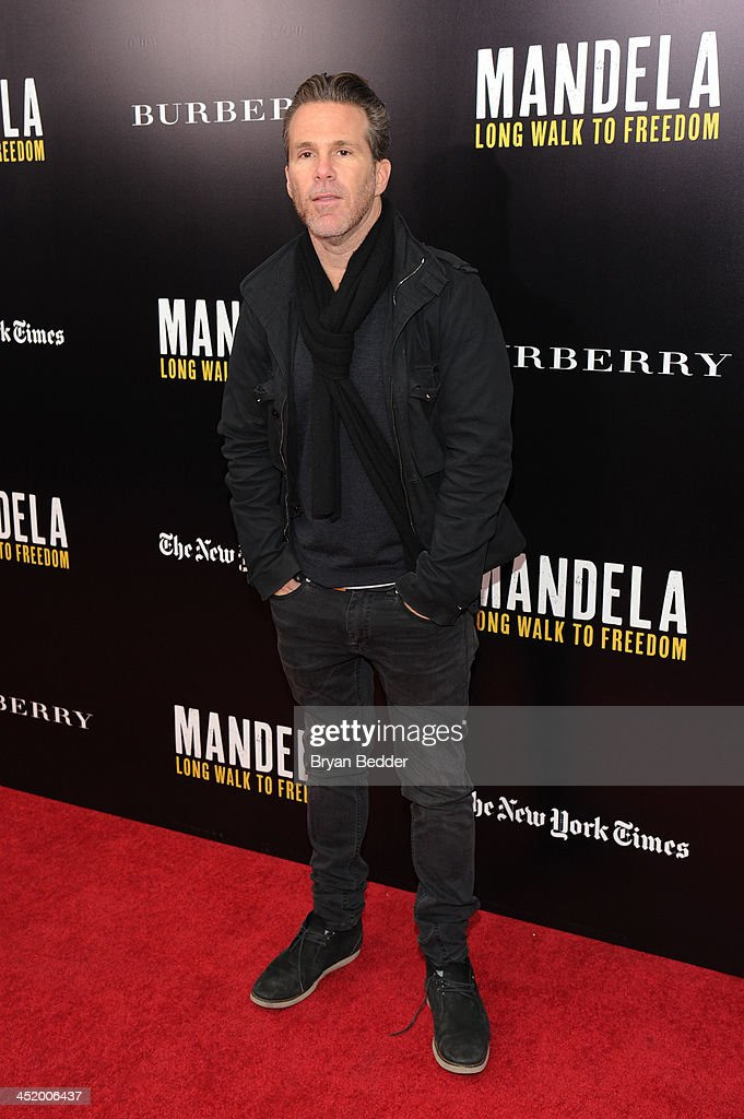 Scott Lipps attends U2 And Anna Wintour Host A Special Screening Of Mandela: Long Walk To Freedom, In Partnership With Burberry And The New York Times at Ziegfeld Theatre on November 25, 2013 in New York City.