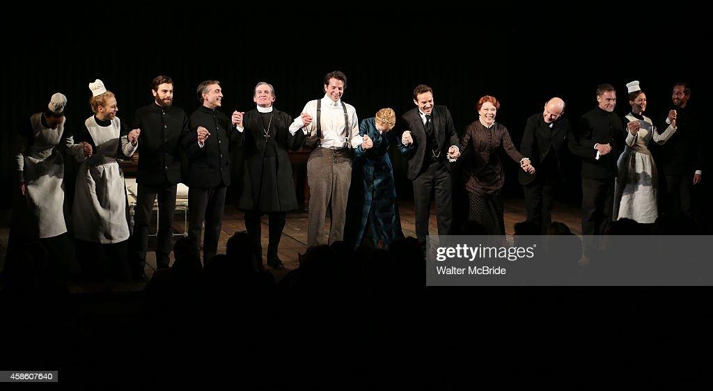 """The Elephant Man"" Broadway Opening Night Curtain Call"
