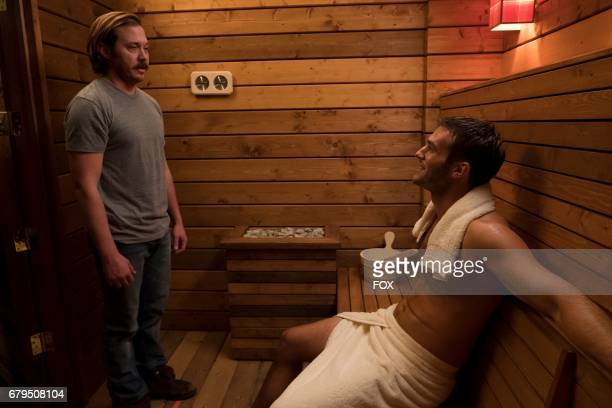 Scott MacArthur and guest star Andy Favreau in the 'The Wolf' episode of THE MICK airing Tuesday March 21 on FOX