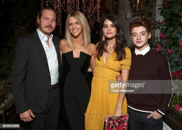 Scott MacArthur Kaitlin Olson Sofia BlackD'Elia and Thomas Barbusca attend the FOX Fall Party at Catch LA on September 25 2017 in West Hollywood...