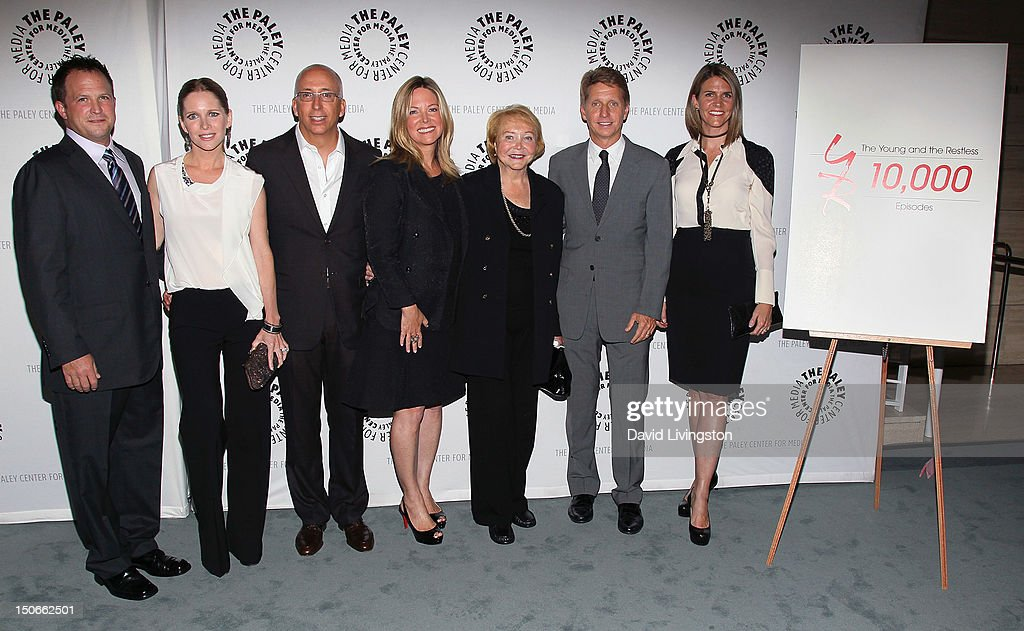 "The Paley Center For Media Presents ""The Young And The Restless: Celebrating 10,000 Episodes"" - Arrivals"