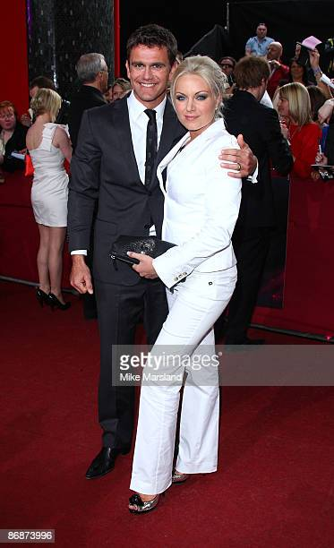 Scott Maslen and Rita Simons attends the British Soap Awards at BBC Television Centre on May 9 2009 in London England