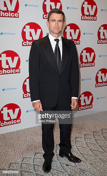 Scott Maslen arrives for the TV Choice Awards at The Dorchester Hotel on September 5 2016 in London England