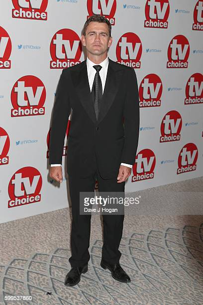 Scott Maslen arrives for the TVChoice Awards at The Dorchester on September 5 2016 in London England