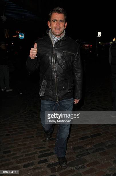 Scott Maslen attends Sid Owen's 40th birthday party at Gilgamesh on January 12 2012 in London England