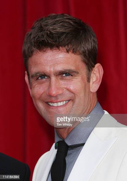 Scott Maslen attends The British Soap Awards at Granada Television Studios on May 14 2011 in Manchester United Kingdom