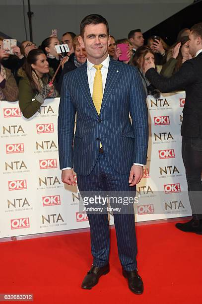 Scott Maslen attends the National Television Awards on January 25 2017 in London United Kingdom