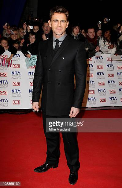Scott Maslen attends the The National Television Awards at the O2 Arena on January 26 2011 in London England