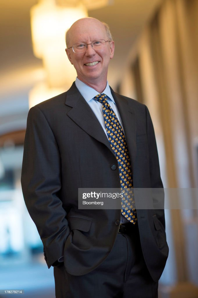 Scott McGregor, president and chief executive officer of Broadcom Corp., stands for a photograph after an interview on Bloomberg West television in San Francisco, California, U.S., on Aug. 27, 2013. Broadcom Corp. provides integrated silicon solutions that enable broadband digital data transmission of voice, data and video content to the home and within the business enterprise. Photographer: David Paul Morris/Bloomberg via Getty Images