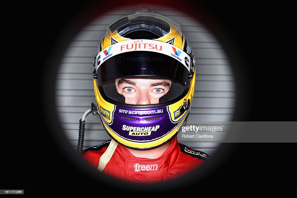 Scott McLaughlin of Garry Rogers Motorsport poses during a V8 Supercars driver portrait session at Eastern Creek Raceway on February 15, 2013 in Sydney, Australia.