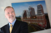 Scott McLellan is senior vice president of Plaza one of Toronto's top condo developers in recent years and is very proud about his newest condo...