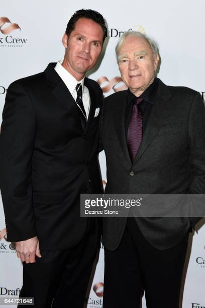 Scott McMenamin and Robert McKee attend the 12th Annual Final Draft Awards at Paramount Theatre on February 23 2017 in Hollywood California