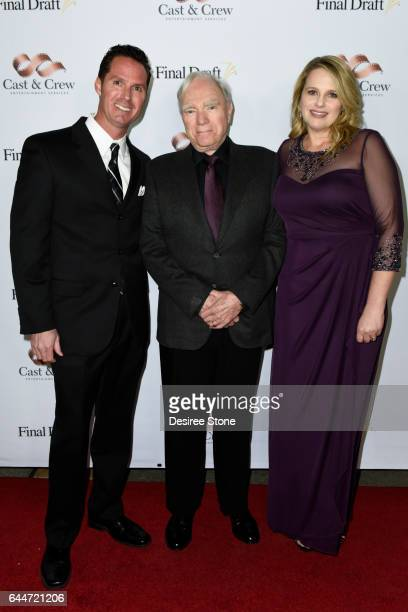Scott McMenamin Robert McKee and Shelly Mellott attend the 12th Annual Final Draft Awards at Paramount Theatre on February 23 2017 in Hollywood...