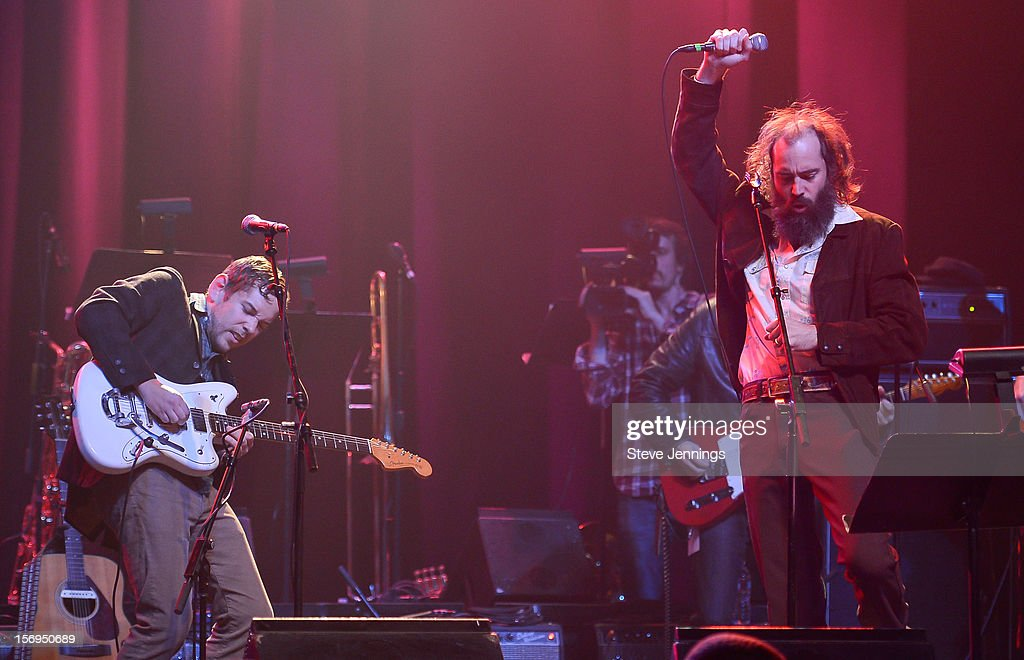 Scott McMicken performs at The Last Waltz Tribute Concert at The Warfield Theater on November 24, 2012 in San Francisco, California.