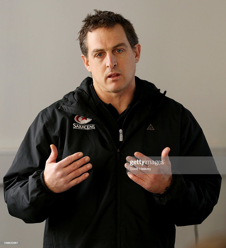 Scott Murphy, High Performance Director of Saracens during a Saracens media day at Allianz Park on January 21, 2013 in Barnet, England.