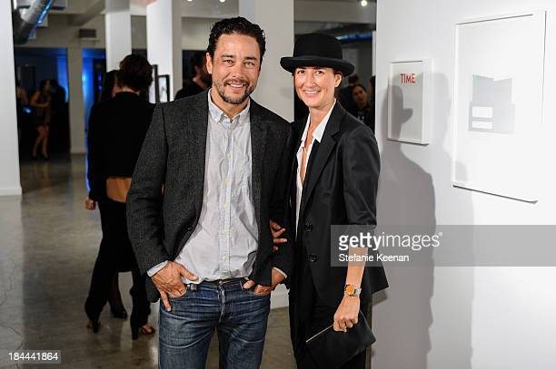 Scott Oster and Anna Getty attend The Mistake Room's Benefit Auction on October 13 2013 in Los Angeles California
