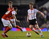 Scott Parker of Fulham FC during the Sky Bet Championship match between Fulham and Rotherham United at Craven Cottage on April 15 2015 in London...