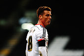 Scott Parker of Fulham is seen during the Sky Bet Championship match between Fulham and Huddersfield Town at Craven Cottage on November 8 2014 in...