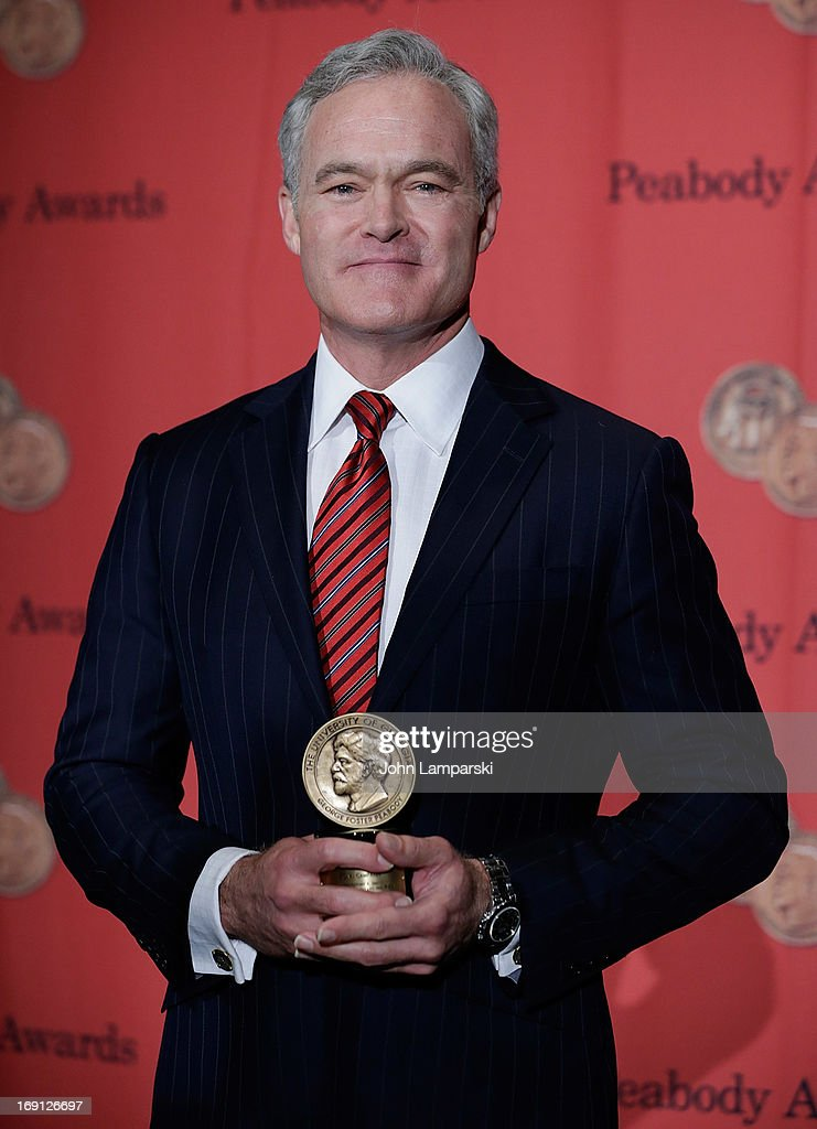 Scott Pelley attends 72nd Annual George Foster Peabody Awards at The Waldorf=Astoria on May 20, 2013 in New York City.