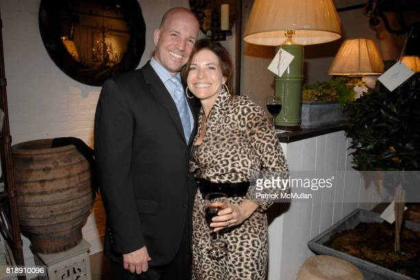 Scott Prentiss and Iris Dankner attend Book Party for BOBBY MCALPINE'S 'THE HOME WITHIN US' from RIZZOLI at Treillage on May 18th 2010 in New York...