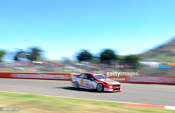 Scott Pye drives the DJR Team Penske Ford during qualifying for race 17 of the Townsville 400 at Reid Park on July 12 2015 in Townsville Australia