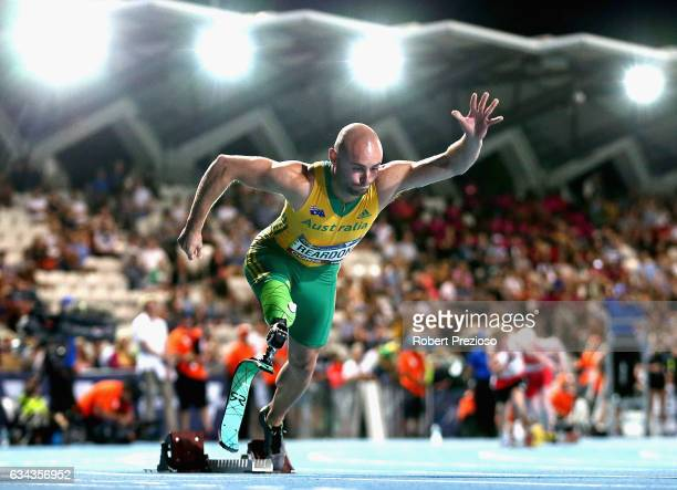 Scott Reardon of Australia competes in men 200 metre ambulatory during the 2017 Nitro Athletics Series at Lakeside Stadium on February 9 2017 in...