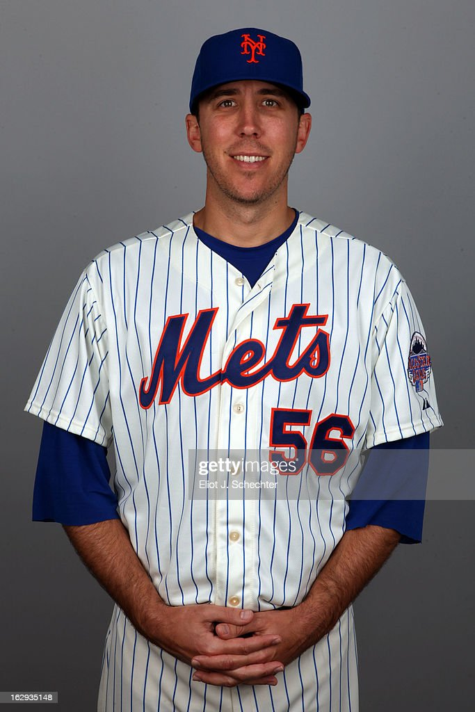 Scott Rice #56 of the New York Mets poses during Photo Day on February 21, 2013 at Mets Stadium in Port St. Lucie, Florida.