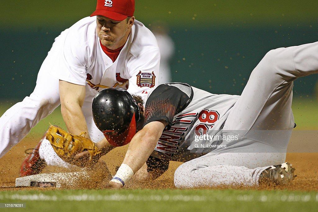 Cincinnati Reds vs St. Louis Cardinals - April 14, 2006