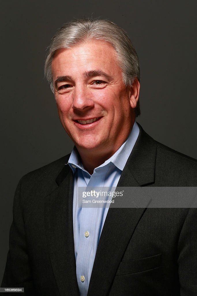 Scott Rolf, VP Sales and Marketing of Headway Marketing poses at the World Congress Of Sports Executive Portrait Studio on April 3, 2013 in Naples, Florida.