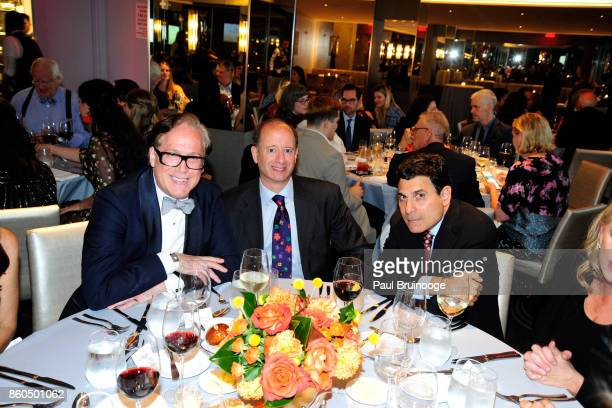 Scott Salvatore David Reitner and Oscar Shamamian attend the Decoration and Design Building celebrates the 2017 winners of the DDB's 10th Anniversary...