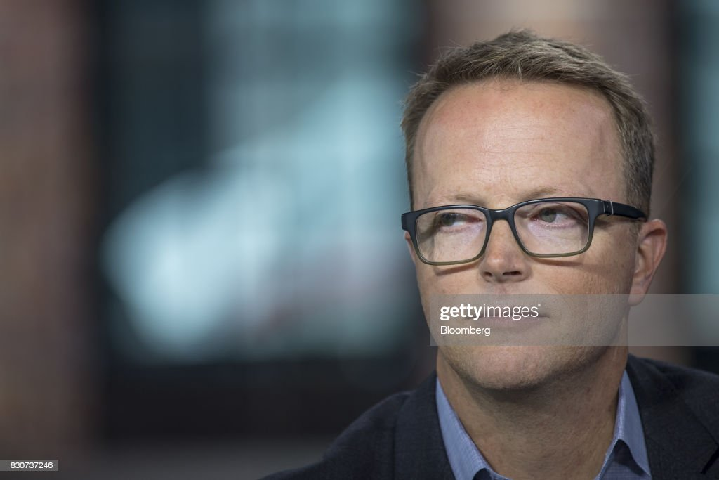 Scott Sanborn, chief executive officer of Lending Club Corp., listens during a Bloomberg Technology interview in San Francisco, California, U.S., on Tuesday, Aug. 8, 2017. Sanborn discussed the company's path to recovery and bringing investors back to the platform. Photographer: David Paul Morris/Bloomberg via Getty Images