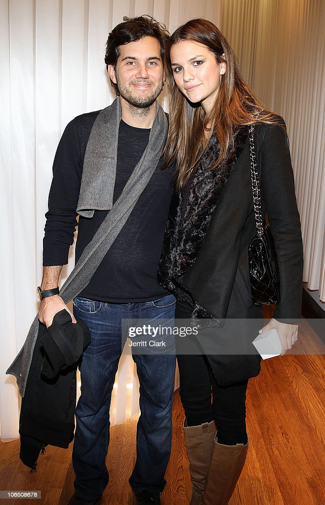 Scott Sartiano and Allie Rizzo attend the grand opening of Dash NYC on November 3 2010 in New York City