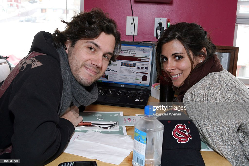 Scott Sartiano and JamieLynn Sigler during 2007 Park City TMobile Cafe at Village at the Lift Day 3 at TMobile Cafe in Park City Utah United States
