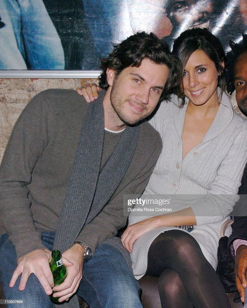 Scott Sartiano and JamieLynn Sigler during MercedesBenz Fashion Week Fall 2007 Phillip Bloch Fashion Party at PM at PM in New York City New York...