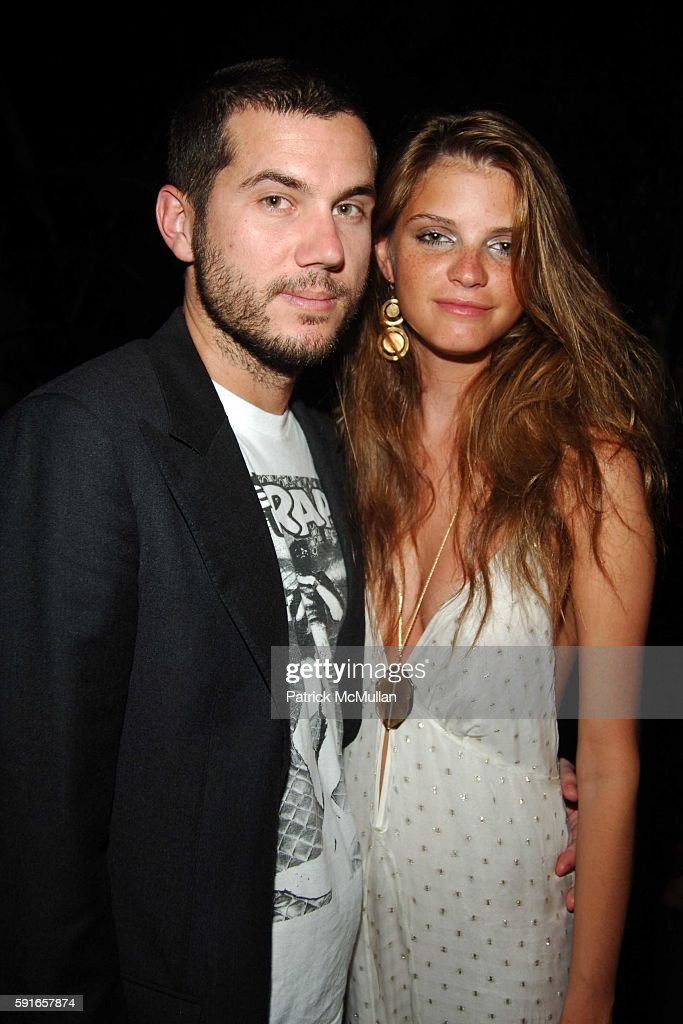 Scott Sartiano and Jeisa Chiminazzo attend New Years 2006 Party at The Shore Club at Skybar at The Shore Club on December 31 2005 in Miami Beach FL