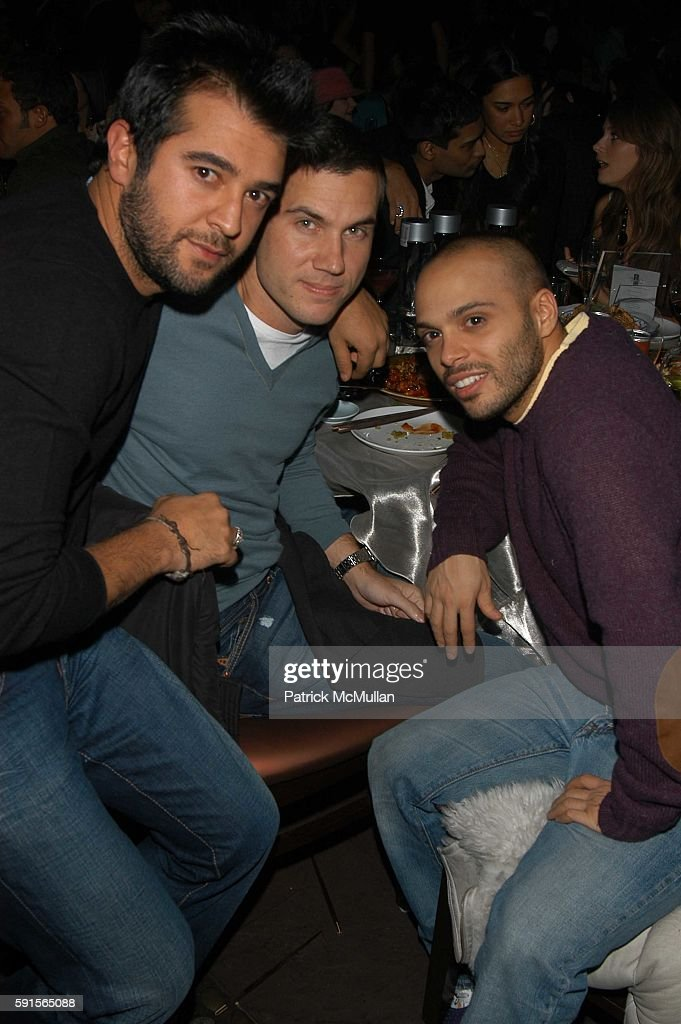 Scott Sartiano and Richie Akiva attend Tao 5th Anniversary Party at Tao on November 23 2005 in New York City