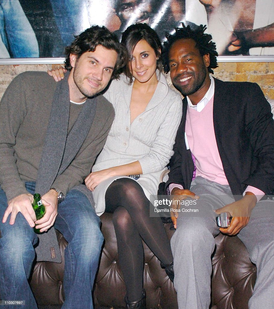 Scott Sartiano JamieLynn Sigler and Unik during MercedesBenz Fashion Week Fall 2007 Phillip Bloch Fashion Party at PM at PM in New York City New York...