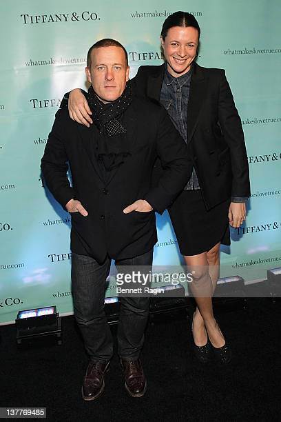 Scott Schuman and Garance Dore attend the Tiffany celebration of the launch of True Love in Pictures with the Sartorialist Scott Schuman and Garance...