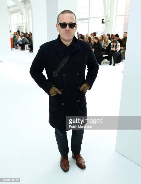 Scott Schuman attends Delpozo during New York Fashion Week at Pier 59 Studios on February 15 2017 in New York City