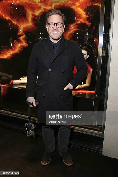 Scott Schuman attends Prada The Iconoclasts Paris 2015 on March 5 2015 in Paris France