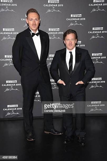 Scott Schuman attends the 2015 Pirelli Calendar Red Carpet on November 18 2014 in Milan Italy