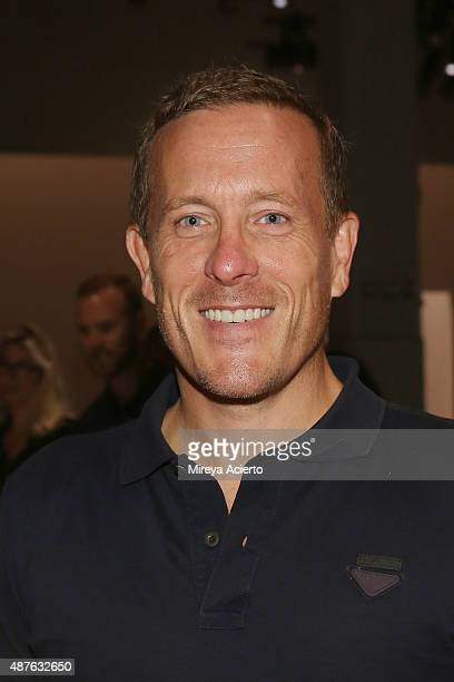 Scott Schuman attends the Creatures Of The Wind fashion show during Spring 2016 New York Fashion Week at SIR Stage37 on September 10 2015 in New York...